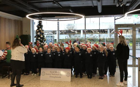 Christmas Carols at the Airport