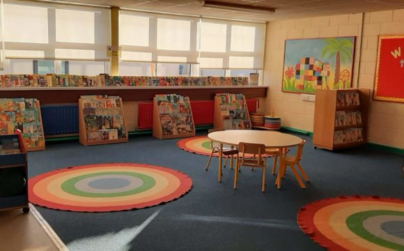 Our new school library!