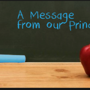 A message from Ms. Dillon to parents and children