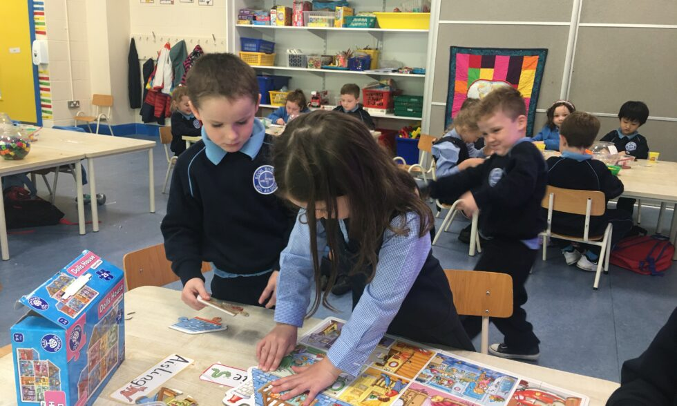 September – Myself, My Family, My Home:  Ms Kelly's Junior Infants Room 2