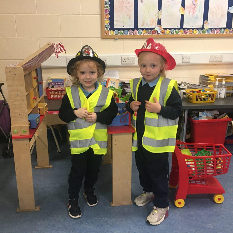 Ms.Kelly R.2 Junior Infants October Aistear: Autumn, Fire Safety, Halloween.
